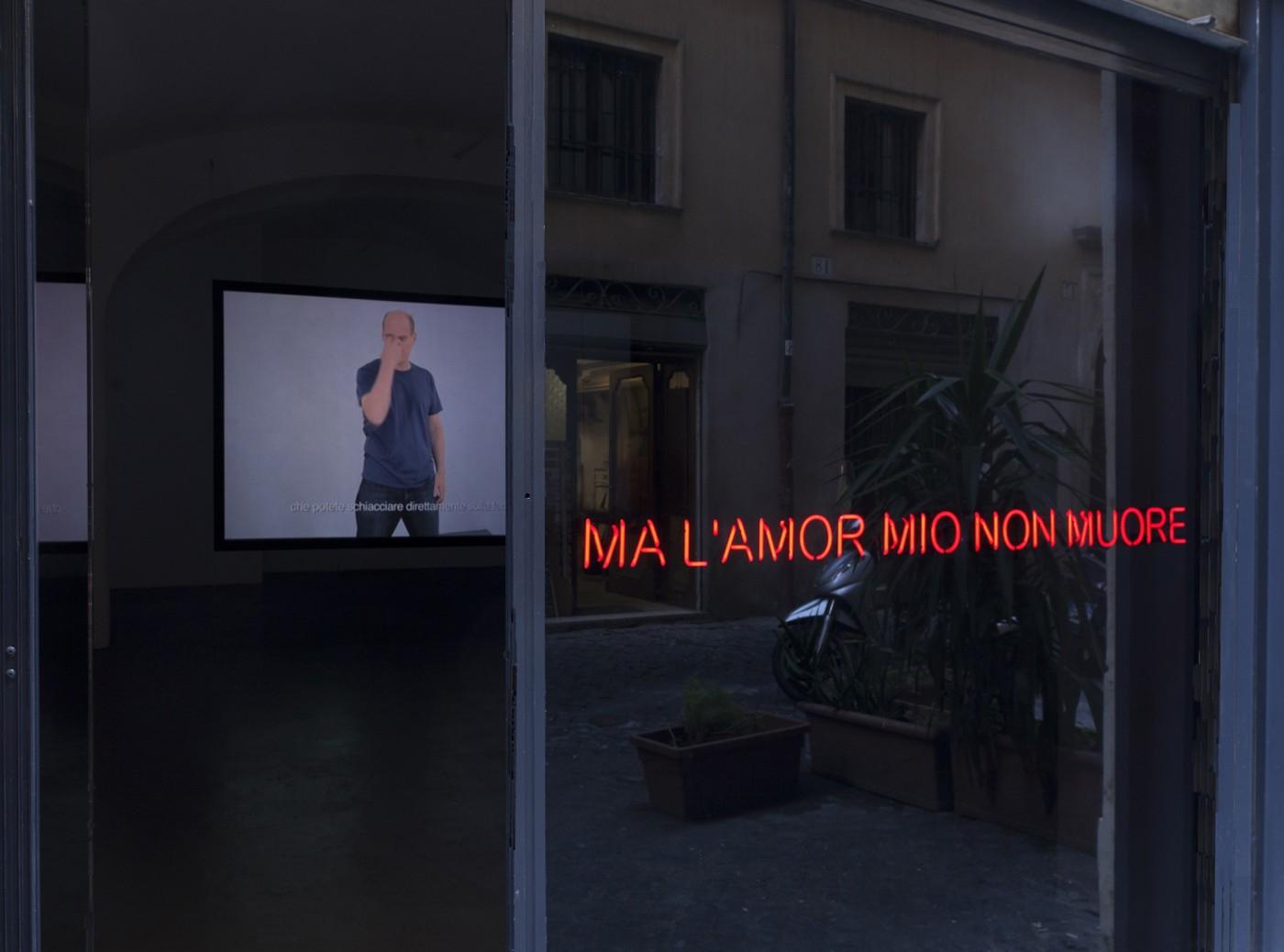 T293 - Claire Fontaine – 'Ma l'amor mio non muore' - 1