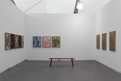 Frieze Art Fair, New Work: Dan Rees, John Henderson, Calla Henkel and Max Pitegoff