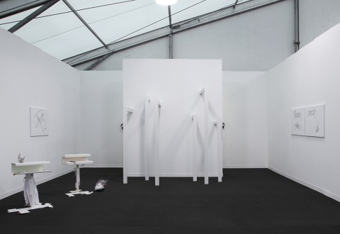 Frieze Art Fair, London: James Beckett, Tris Vonna-Michell, Helen Marten, Claire Fontaine