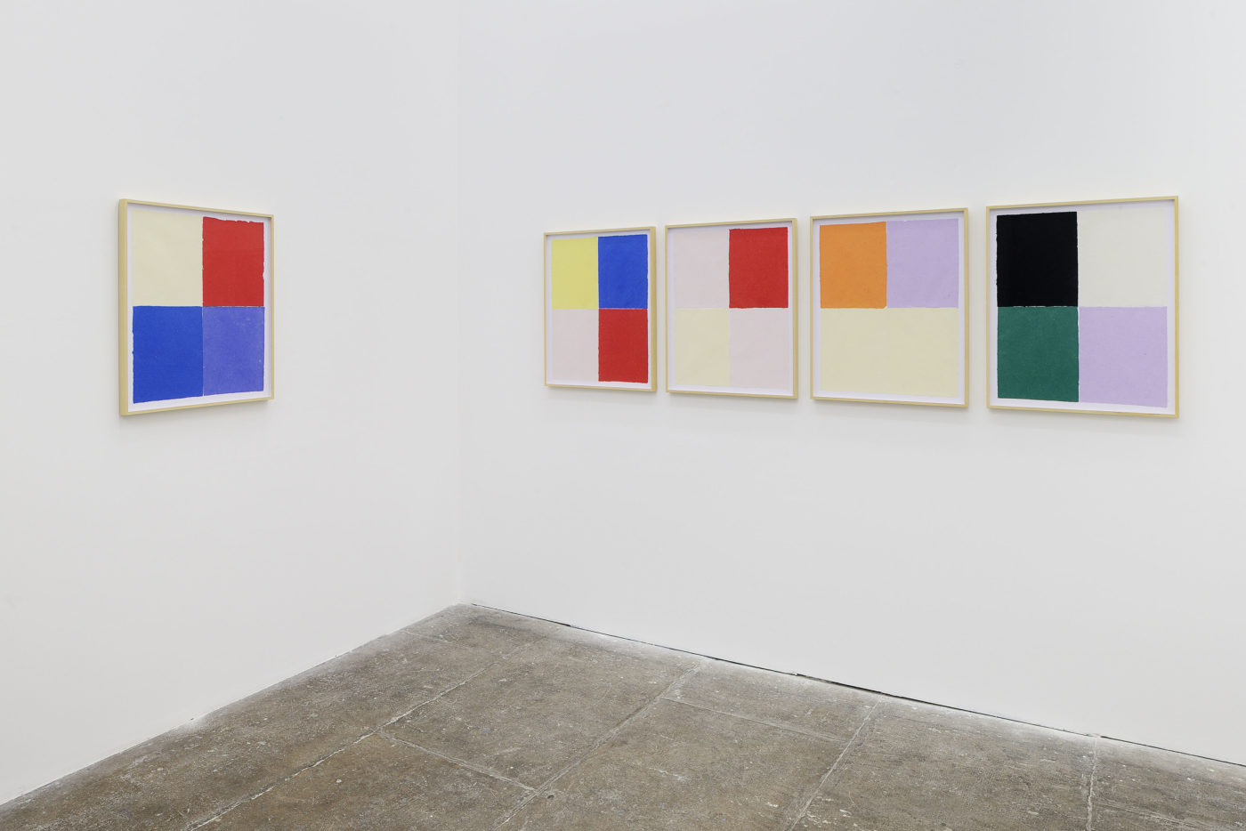T293 - Also on view: Ethan Cook – Papers - 1